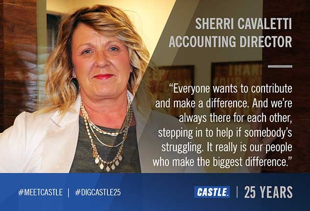 sherri cavalleti, Castle Accounting Director