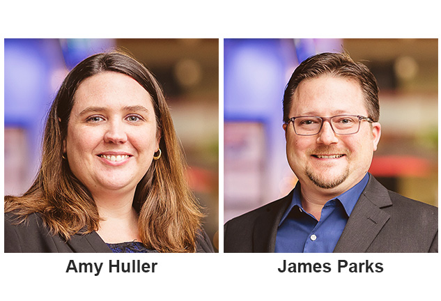amy huller and james parks