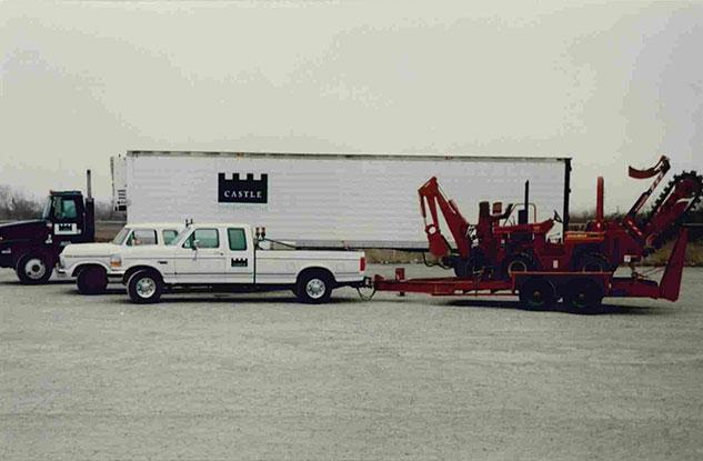 First Trailer Truck