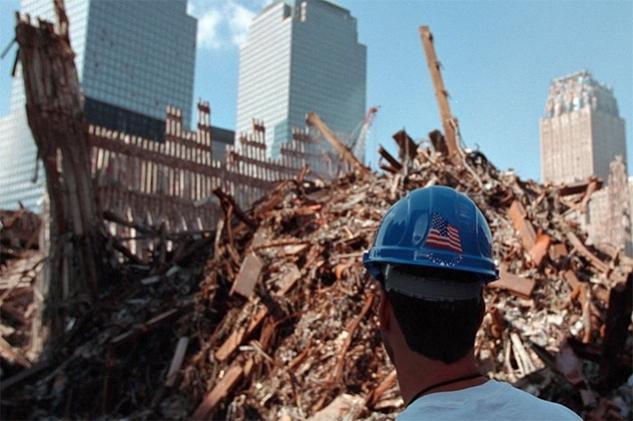 Destruction of buildings on 911