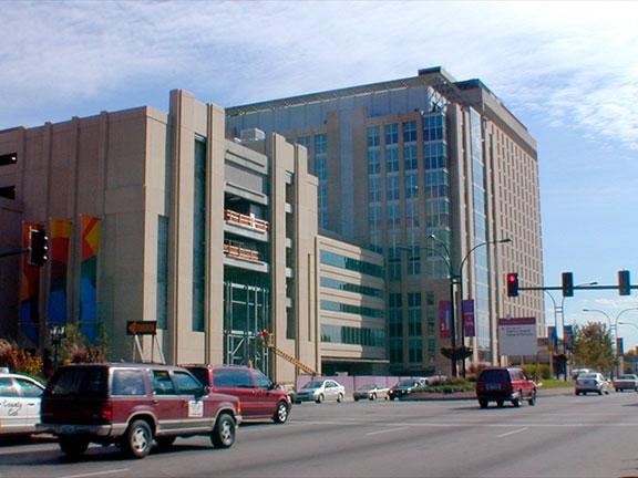 Exterior Towers Ground Level