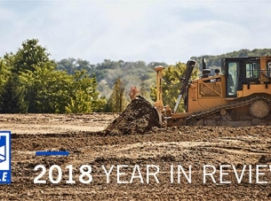 Excavation in Action with text A Year in Review